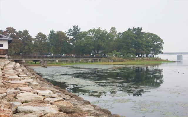 膳所城址公園